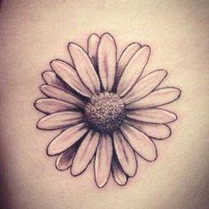 Daisy tattoo designs, flower tattoos и tattoos. Small Daisy Tattoo, Daisy Flower Tattoos, Rose Tattoos, Body Art Tattoos, Small Tattoos, Sleeve Tattoos, Daisies Tattoo, Margarita Tattoo, Magarita