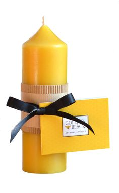 Our 25 hour beeswax church candles can be burned for shorter periods than pillar candles. If you have just 2 hours to relax then this is the perfect candle for you! http://goldandblackcandles.co.uk/beeswaxcandles/