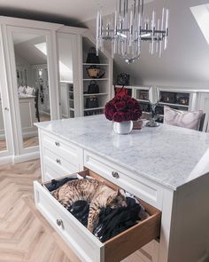Organization Ideas dream closets The Home Of Lydia Decor, Home, Room Closet, Cool Beds, Drawers, Pouffe, Interior, House, Room