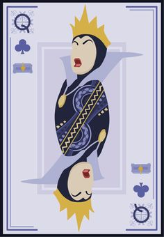 The Evil Queen of Clubs | Disney Villianesses Have Great PokerFaces