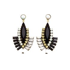 These are fantastic statement earrings on Aria
