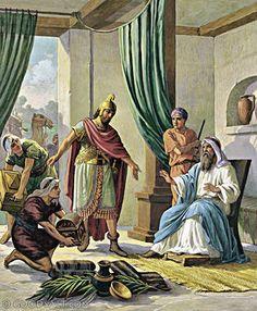 2 Kings 5: Naaman Offers Elisha Presents