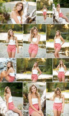 High School Senior Photographer Portland Oregon Vancouver Washington I Sean Brown Productions Senior Portraits Girl, Senior Girl Poses, Girl Senior Pictures, Girl Photo Poses, Senior Girls, Senior Posing, Senior Session, Girl Photos, Studio Photography Poses
