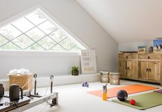 bonus room - in home yoga studio?