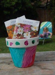 Fancy Flowerpots for Mothers Day!