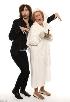David Tennant and Catherine Tate in Nan's Christmas Carol