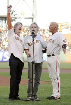 Bob Weir, Phil Lesh, and Tim Flannery To Sing National Anthem At SF Giants Playoff Game Live Music, My Music, Dead Pictures, Bob Weir, The Jam Band, Phil 3, Forever Grateful, Home Team, National Anthem