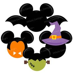 PPbN Designs - Halloween Mickey Ears Exclusive, $0.00 (http://www.ppbndesigns.com/products/halloween-mickey-ears-exclusive.html)