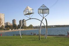 double diamond @ english bay Vancouver, photo by Minaz Jantz, Tripnaround.com Canada