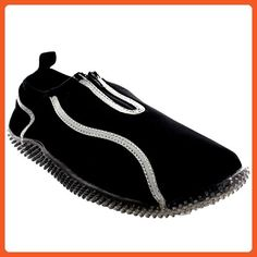Womens Aerobics Yoga Sea Slip On Scuba Beach Water Socks Zip Skin Shoes - 39 - ZWS0003 - Athletic shoes for women (*Amazon Partner-Link)