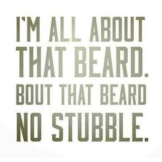 all about the beard