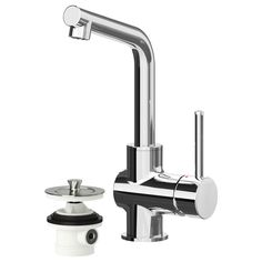 LUNDSKÄR Bath faucet with strainer - IKEA - $100 - higher (highest?) clearance under the faucet, not sure if it is ok with small sink