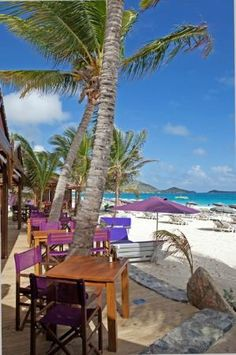 Always good to visit. Bikini Beach Orient Bay, st. Martin.