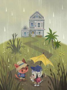 """""""rainy day (・w・)"""""""