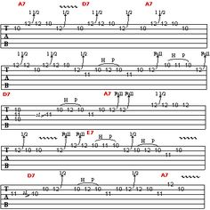 Learn to Play Like B.B. King: B.B. King Licks in The Key of A (pt. 2)