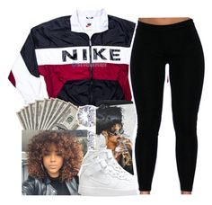 untitled #40 by yani122 on Polyvore featuring polyvore fashion style NIKE clothing