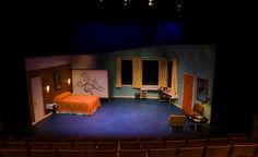Jayme Mellema - scenic design for Murder at the Howard Johnson's, NCSU theatre