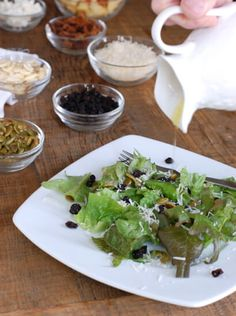Salad Recipe by 100 days of Real Food