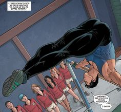 "7. He is a good teacher - ""While working as a spy for the super spy organization called Spyral, Dick Grayson had to work undercover as a dance teacher in St. Hadrian's Boarding School. Working there, he managed to inspire and push the girls to greater heights, as they did their best to impress their teacher. While his good looks and unconventional ways of teaching did help, it was mostly teaching skills and charm."" -- 10 Facts You Might Not Know About DC's Nightwing"