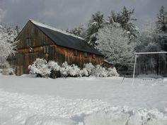 Image detail for -Aloha Camps Vermont Winter Landscape