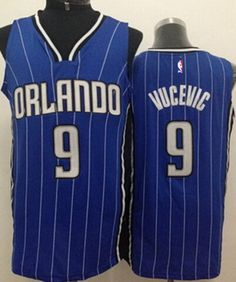 Orlando Magic  9 Nikola Vucevic Blue Swingman Jersey fe252604d