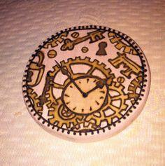Work in Progress: Steampunk Henna Designs on Wood Box Top. Box Tops, Wood Boxes, Henna Designs, Steampunk, Painting, Comic Con, Henna Art Designs, Wooden Crates, Wood Crates