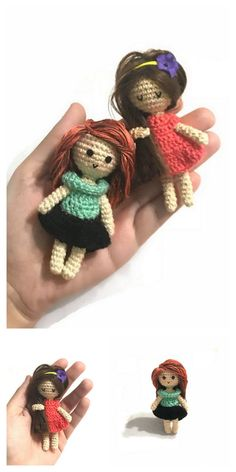 Amigurumi Pink Little Layd Free Pattern – Amigurumi Free Patterns And Tutorials Doll Amigurumi Free Pattern, Crochet Amigurumi Free Patterns, Crochet Doll Pattern, Amigurumi Doll, Crochet Toys, Free Crochet, Yarn Bee, How To Start Knitting, Knitted Dolls