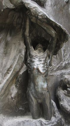 Rodin, the gates of hell.