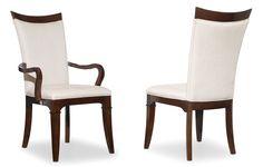 Элегантный обеденный стул из серии Palisade. Идеально дополнит полукресла и стол из данной коллекции. Стул изготовлен из дерева твердой породы и шпона грецкого ореха, имеет текстильную обивку. Метки: Кухонные стулья. Материал: Ткань, Дерево. Бренд: Hooker Furniture. Стили: Классика и неоклассика. Цвета: Белый, Темно-коричневый.