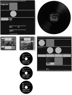 ARTS: Hort design for Kaycee ( The visual system for the Bremen band Kaycee) Cd Packaging, Print Packaging, Packaging Design, Vinyl Cover, Cd Cover, Contents Page Design, Winner Album, Cd Artwork, Cd Design