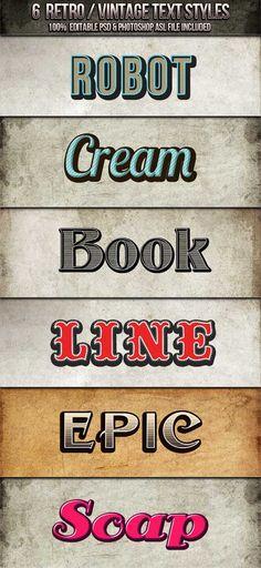 Retro Fonts For Design