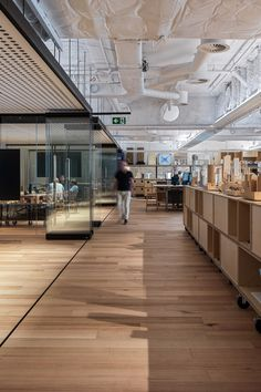 Leading Architecture firm Fitzpatrick + Partners have used DecorLux Max in their sleek studio renovation in Castlereagh Street in Sydney's CBD. Learn more on our website. Australian Interior Design, Interior Design Awards, Workplace Design, Stairs, Stock Photos, Studio, Architecture, Room, Decor