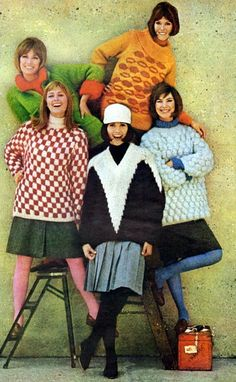 Big knits, Life - October 25, 1963