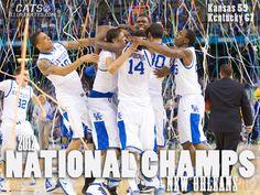 Champs! #Kentucky