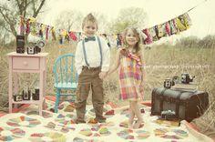Styled Vintage Easter Photoshoot!