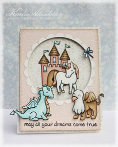 Lawn Fawn - Critters Ever After card by Karin Åkesdotter Paper Craft Making, Paper Crafting, Scrapbooking Technique, Lawn Fawn Blog, Lawn Fawn Stamps, Paper Smooches, Baby Kind, Card Maker, Copics