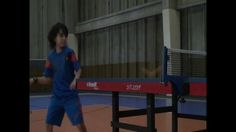 Tenis de Mesa - Rutinas de entrenamiento con un niño de 9 años