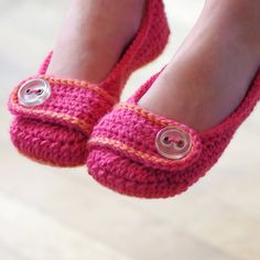 Zapato de ganchillo patrones Vanessa hermana por TwoGirlsPatterns