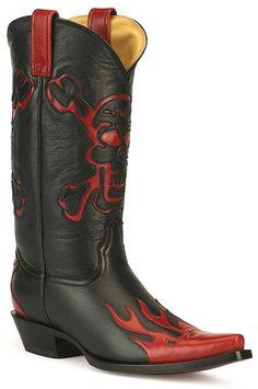 Cowboy Boots with skulls for men. | Boots | Pinterest | Cowboy ...