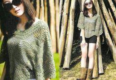 Grey shawl Crochet - charts