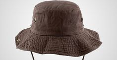 The Hat Depot 300N1510 Wide Brim Foldable Double-sided Outdoor Boonie Bucket  Hat Irish Hat f4108f79b463