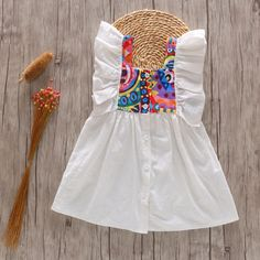 Daily Deals For Moms : An extra OFF is available for new users now Baby Frocks Designs, Kids Frocks Design, Frocks For Girls, Little Girl Dresses, Girls Frock Design, Kurti Embroidery Design, Korean Fashion Dress, Skirts For Kids, Boho Girl