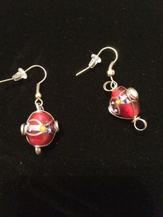 Scarlets Honor  bright red & brass wire work by 2Timothys16