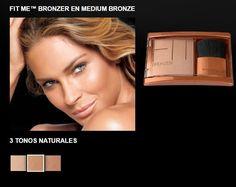 Maybelline New York Fit Me! Bronzer, Medium Bronze, Fade proof bronzed glow 0.16 | Health & Beauty, Makeup, Face | eBay!