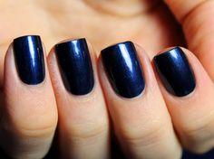 A new twist on black nail polish!