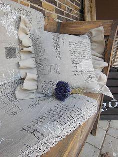 Pillow case Shabby Dream by shabby.romantic / Obliečka na vankúš Shabby Dream