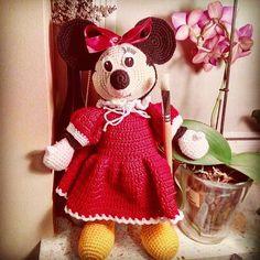 #amigurumi #Minnie #crochet