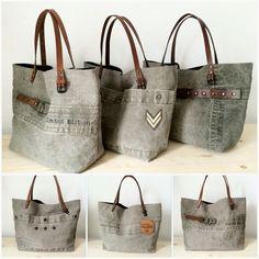 Limited edition military bag www.sobenstore.com Leather Bags Handmade, Handmade Bags, Handmade Handbags, Fabric Purses, Fabric Bags, Boho Bags, Linen Bag, Denim Bag, Shopper