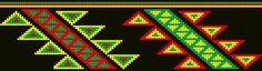 Design repeat for Wayuu Mochila bag Tapestry Crochet Patterns, Bead Loom Patterns, Crochet Art, Macrame Patterns, Knit Or Crochet, Beading Patterns, Foto Zoom, Mochila Crochet, Native Beadwork