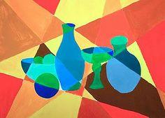 cubist still life